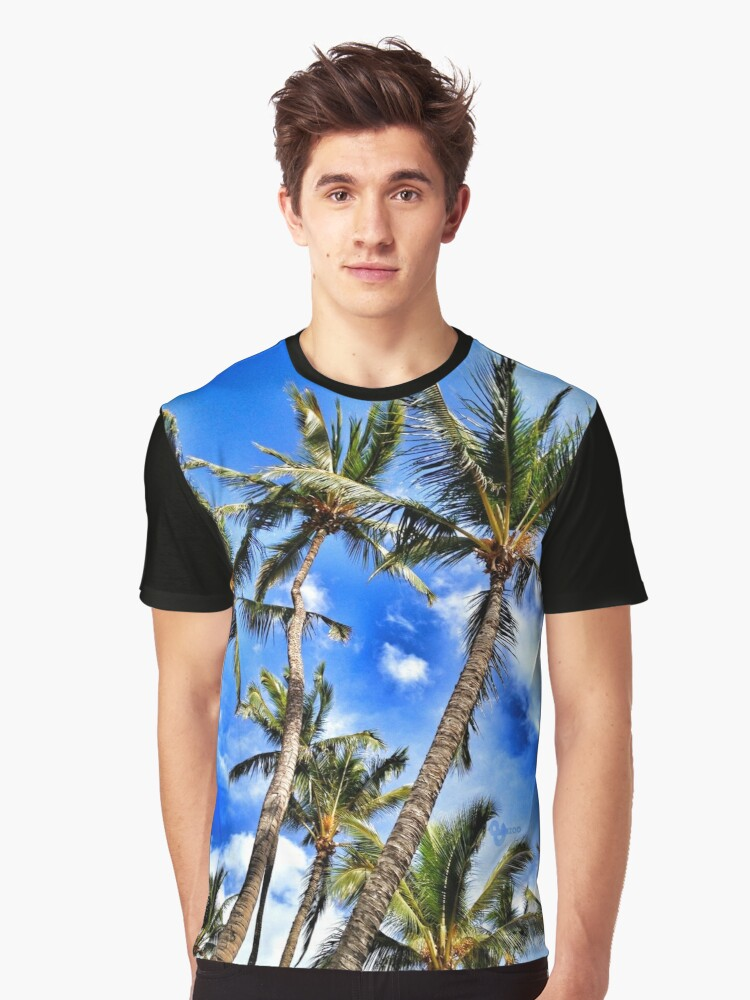 Maui Skies Graphic T-Shirt Front