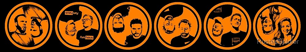 FunHaus Cast Logos (Horizontal) by RustedSoldier