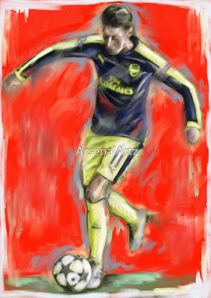 Mesut Ozil 2017 by ArsenalArtz