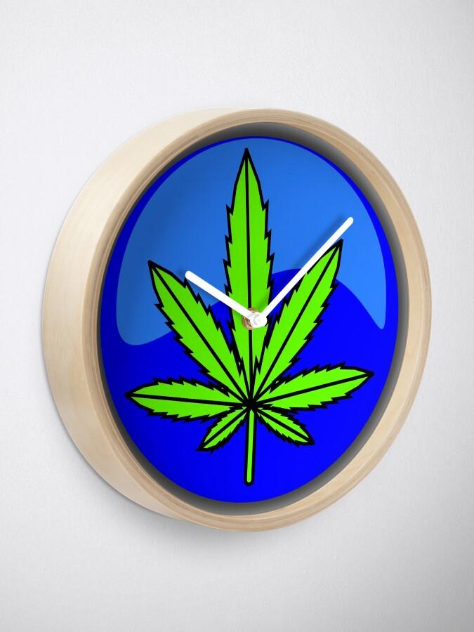 Alternate view of CANNABIS LEGALIZATION Clock
