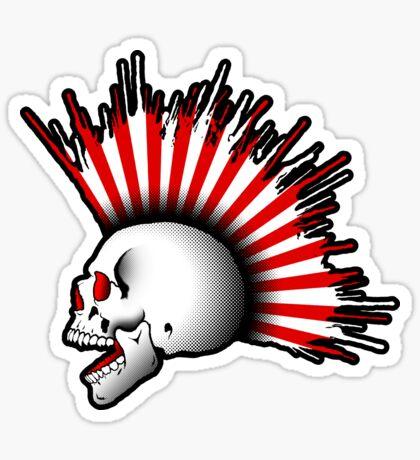 Kamikaze Skull! Sticker