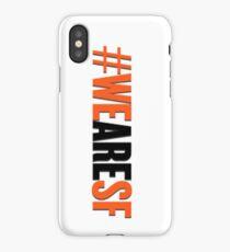 #WEARESF Giants Sticker iPhone Case