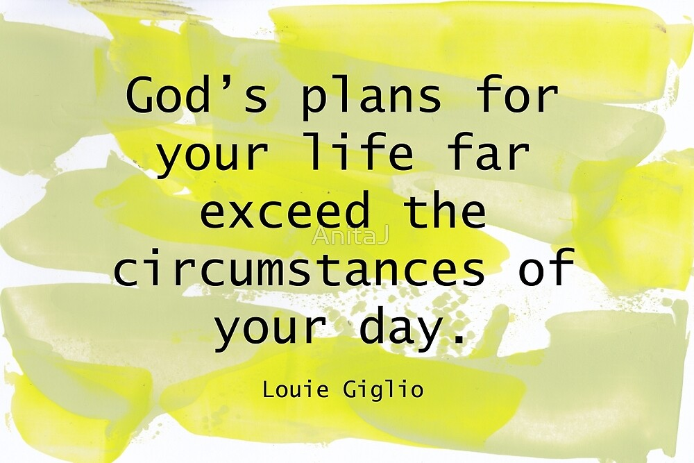 God's Plans quote by AnitaJ