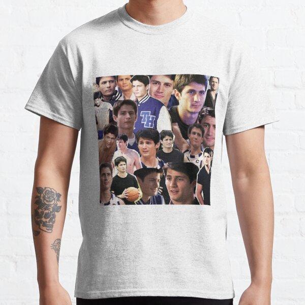 nathan scott collage 2 T-shirt classique