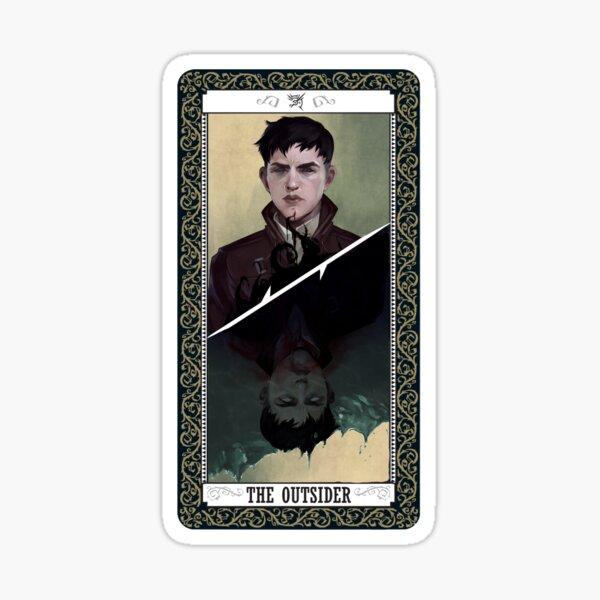 The Outsider Tarot Card Sticker