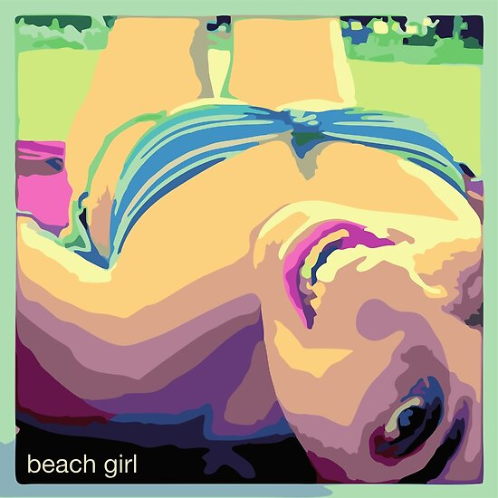 Beach girl - Chica en la playa by ManuelGuajiro