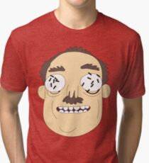 Rick and Morty Ants in my eyes Johnson Tri-blend T-Shirt