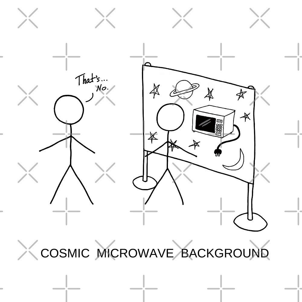 Cosmic Microwave Background by Adrienne Body