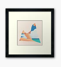 Tom Wesselmann, 'Seascape Dropout' 1982 Framed Print