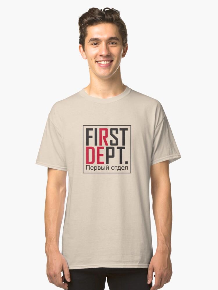 First Dept. Standard Classic T-Shirt Front