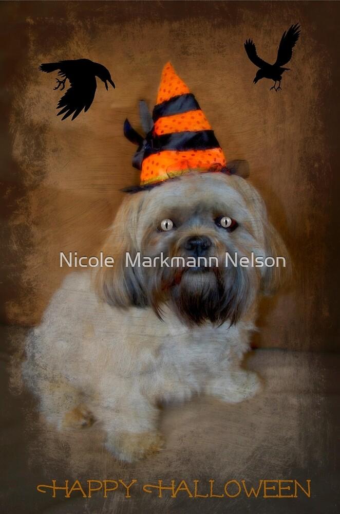 My little white witch by Nicole  Markmann Nelson
