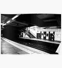 Tube Station Poster