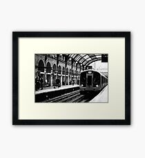London Tube Framed Print