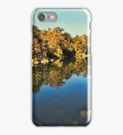 Autumn River Reflection iPhone Case/Skin