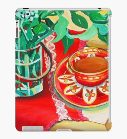 Red Teatime iPad Case/Skin