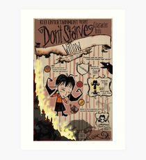 Don't Starve- Willow Art Print