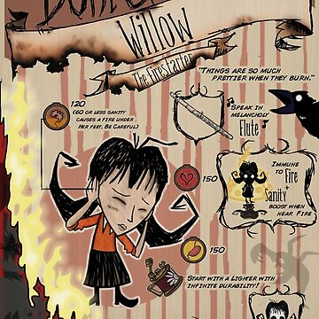 Don't Starve- Willow by VisualDiscord