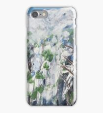 Snow Scene 1 - Abstract iPhone Case/Skin