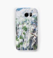 Snow Scene 1 - Abstract Samsung Galaxy Case/Skin
