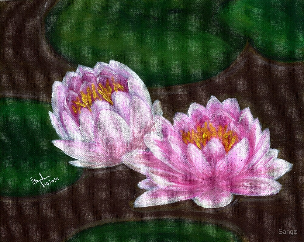 Night Water Lily by Sangz