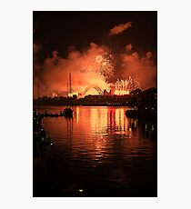 New Year at Jones Bay Wharf Photographic Print