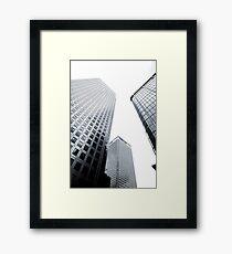 Buildings !!! Framed Print