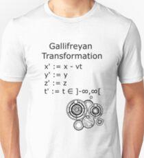Gallifreyan Transformation Unisex T-Shirt
