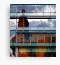 Adelaide Town Hal Reflection Canvas Print