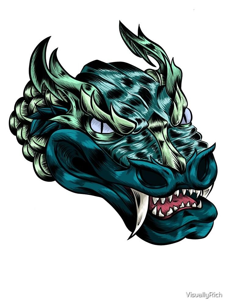 A VisuallyRich Dragon by VisuallyRich