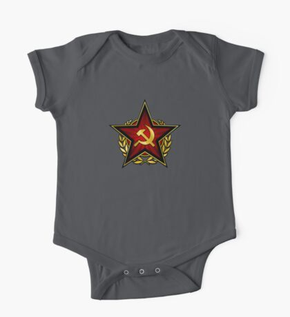 Russian Red Star Kids Clothes