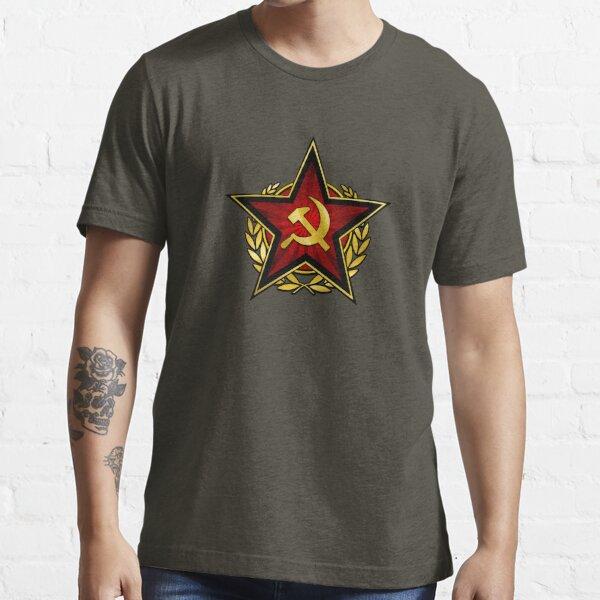 Russischer Roter Stern Essential T-Shirt