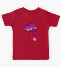 Your Brain without Coffee - Pink Kids Clothes