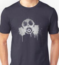 Camiseta ajustada Máscara de gas