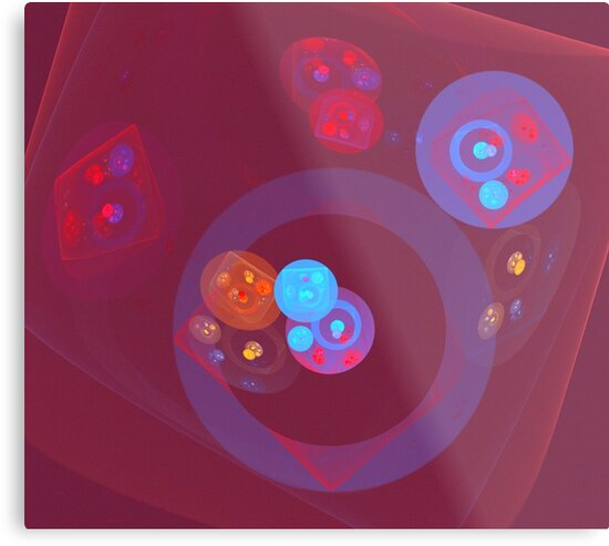 Red Blue Orbs by KimSyOk