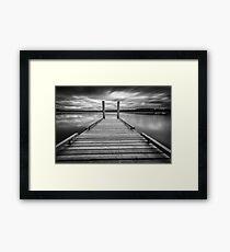 Comox lake Vancouver island Framed Print