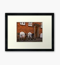 Bicycles of Aero 1 Framed Print