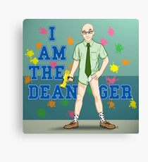I am the Dean-ger!!! Canvas Print