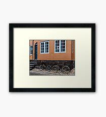 Bicycles of Aero 5 Framed Print