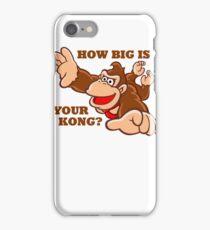 Donkey Kong How Big iPhone Case/Skin