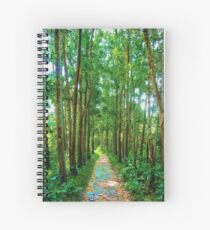 The Path to Peace Spiral Notebook