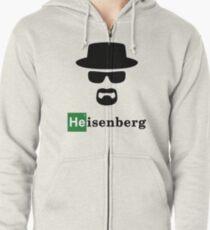 Heisenberg Breaking Bad Zipped Hoodie