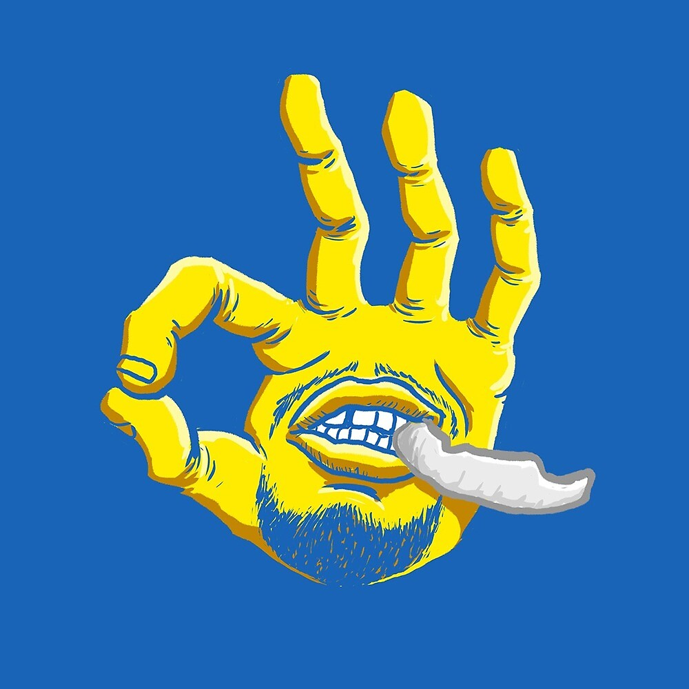 Steph Curry's Hand by TRILLSHITBRUH