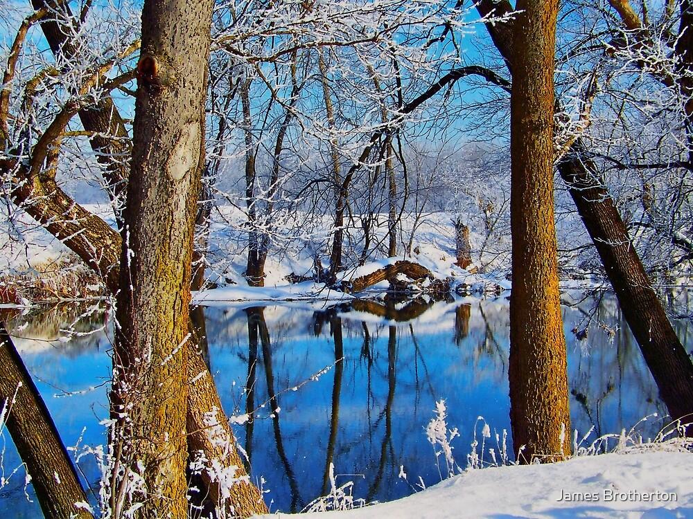 Snowy Shenandoah by James Brotherton