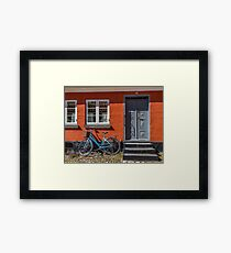 Bicycles of Aero 8 Framed Print