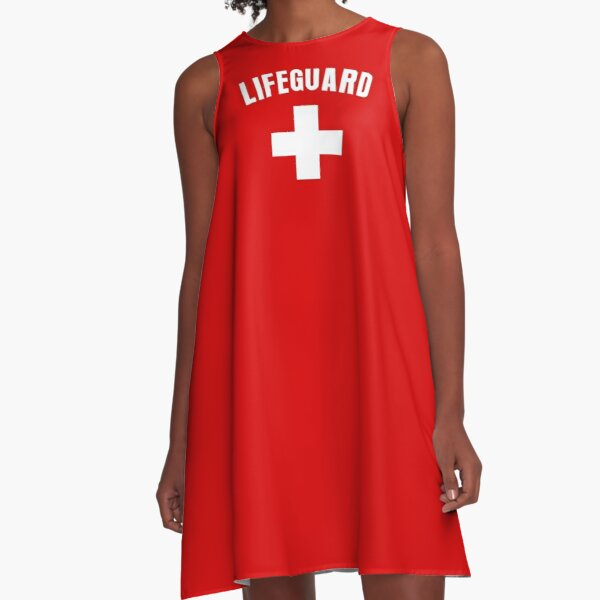 Lifeguard A-Line Dress