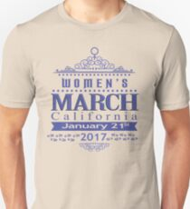 Million Women's March on CALIFORNIA State 2017 Redbubble T Shirts Unisex T-Shirt
