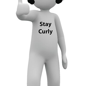 Thumbs Up Guy - Stay Curly by the-curl