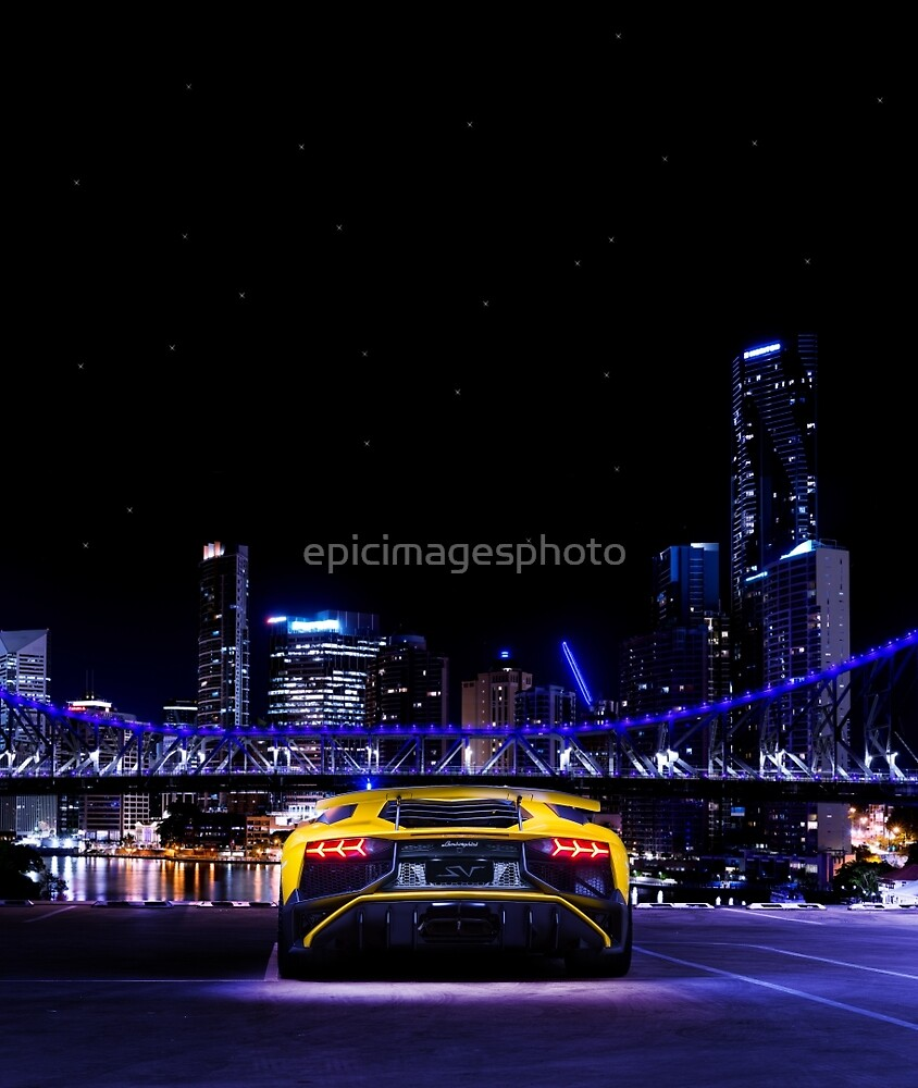 Supercar - City Lights by epicimagesphoto