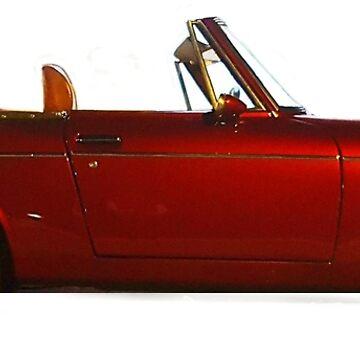 Datsun Fairlady Side by khanzie