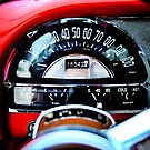 Pontiac 1954 Dash by Nathan Little